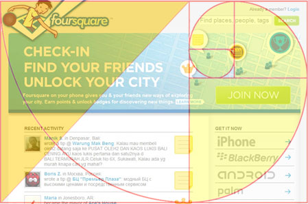 Golden Triangle on Foursquare's webpage