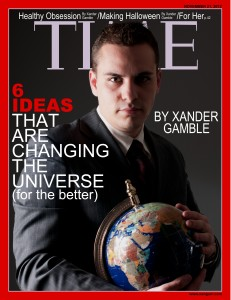 Xander Gamble TIME Magazine Cover